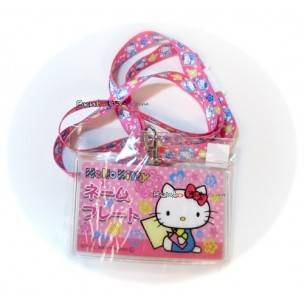 Hello Kitty Badge Holder
