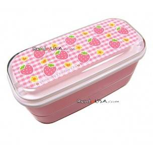 Authentic Japanese Bento Box Lunch Box Strawberry