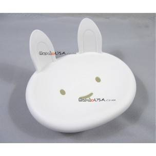 Japanese Kitchen Bathroom Cute Soap Dish White Bunny