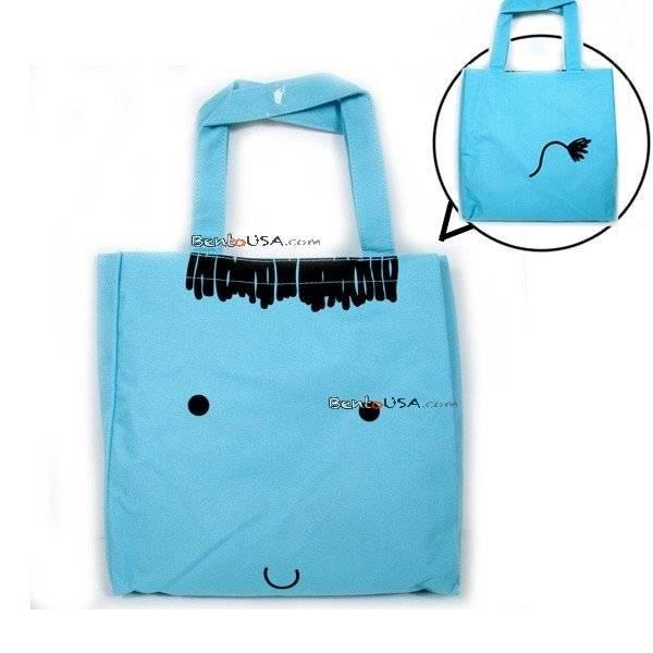 japanese bento accessories bento bag for bento lunch box animal blue. Black Bedroom Furniture Sets. Home Design Ideas