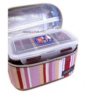 microwavable airtight bento lunch box set lovely red all things for sale. Black Bedroom Furniture Sets. Home Design Ideas