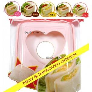 Japanese Bento Accessories Sandwich Cutter New Design