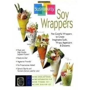 Soybean Protein Wraps Assortment 10 Sheets for Healthy Bento