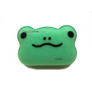 Japanese Kitchen Cute Animal Face Sponge Frog