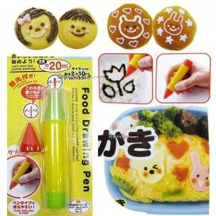 Japanese Bento Deco Lunch Decoration Food Drawing Pen