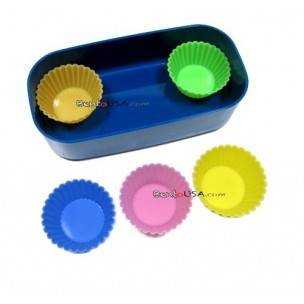Japanese Bento Accessories Silicone Food Cup 5 pcs 