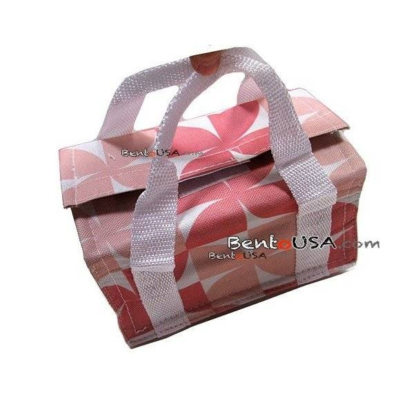 japanese bento bag insulated lunch bag for bento box pink. Black Bedroom Furniture Sets. Home Design Ideas