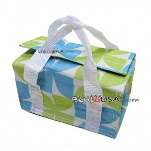 Japanese Bento Bag Insulated Lunch Bag for Bento Box - Blue