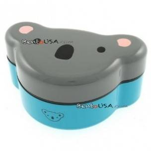 Koala Bear - Japanese Bento 2-Tiered Lunch Box with Strap