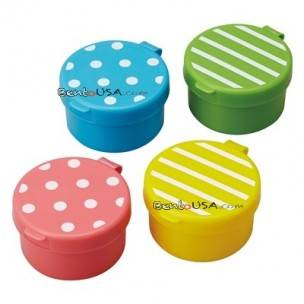 Japanese Bento Box Accessories Sauce Container set of 4 Lovely Mayo Cup