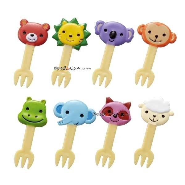 Japanese bento box accessories food pick cute animal fork for Cute stuff for sale