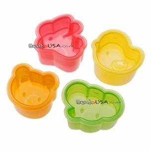 Japanese Bento Decoration Accessories Animal Shaped Rice Mold 4 Designs