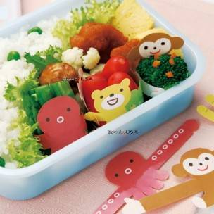 Japanese Microwavable Bento Baran Food Separator Sheet Hug 12 Pcs