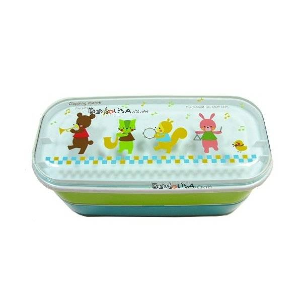 microwavable japanese bento box lunch box bear all things for sale. Black Bedroom Furniture Sets. Home Design Ideas