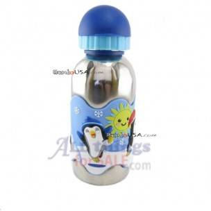 Eco-Friendly Stainless Steel Drinking Water Bottle 12.5 -penguin
