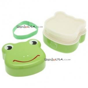 kotobuki frog bento lunch snack box