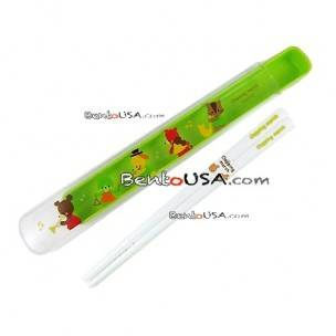 Green Chopsticks and Case