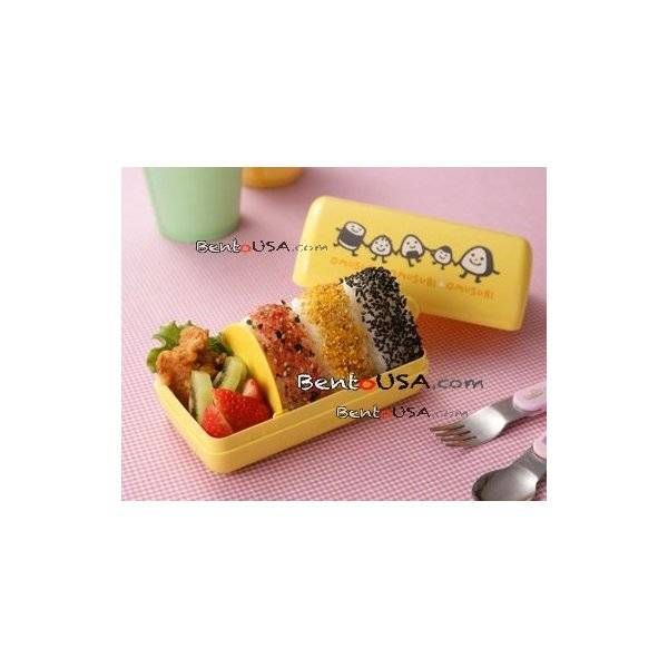 japanese triangle rice ball bento lunch box omusubi happy onigiri. Black Bedroom Furniture Sets. Home Design Ideas