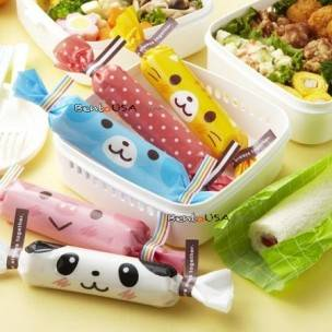 Japanese Cute Food Lunch Wrap Animal Roll Wrap