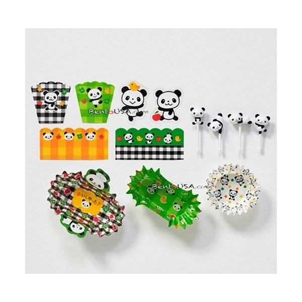 bento lunch decoration accessories beginner kit panda. Black Bedroom Furniture Sets. Home Design Ideas