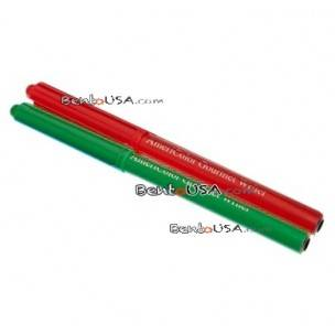 Bento Food Deco Pen Americolor Gourmet Writer Green and Red