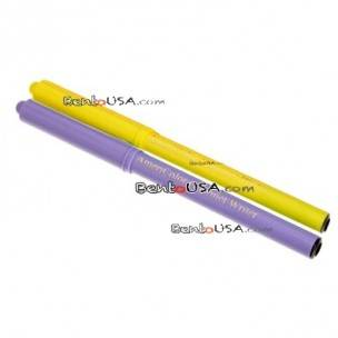 Bento Food Deco Pen Americolor Gourmet Writer Purple and Yellow