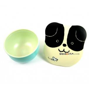 Microwavable Japanese Small Bento Box Snack Dog