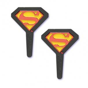 Food Decorating Pick Bento Food Pick Superman Shield