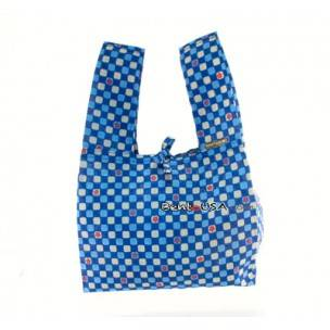 Japanese Bento Cloth Tote Bag for bento box lunch box - Blue Flower