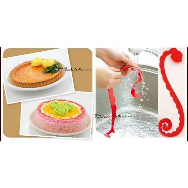 silicone decorative rose
