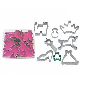 Fun Cookie Cutter Princess Set of 8