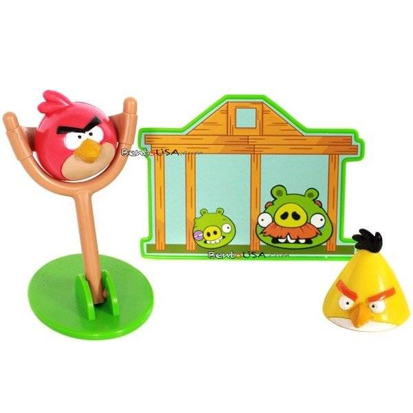 Food decorating cake kit angry birds 4 pcs for Angry birds cake decoration kit