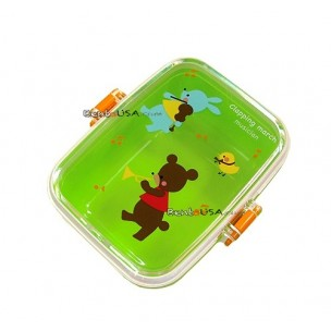 microwavable japanese bento box lunch snack box green all things for sale. Black Bedroom Furniture Sets. Home Design Ideas