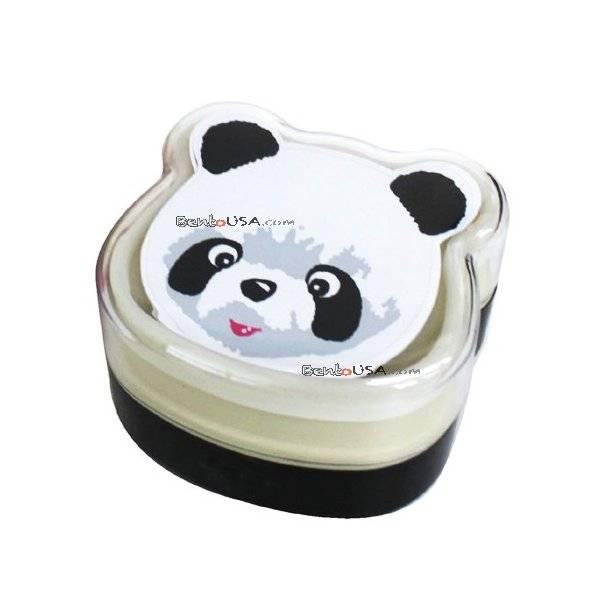 bento lunch box panda panda bear bento box lunch box with lunch bag from japan bento lunch box. Black Bedroom Furniture Sets. Home Design Ideas