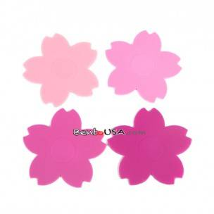 Silicone Japanese Bento Baran Sheet Reusable Flower Sakura