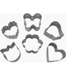 Bento Decoration Accessories Vegetable Cookie Cutter Love 6 pcs
