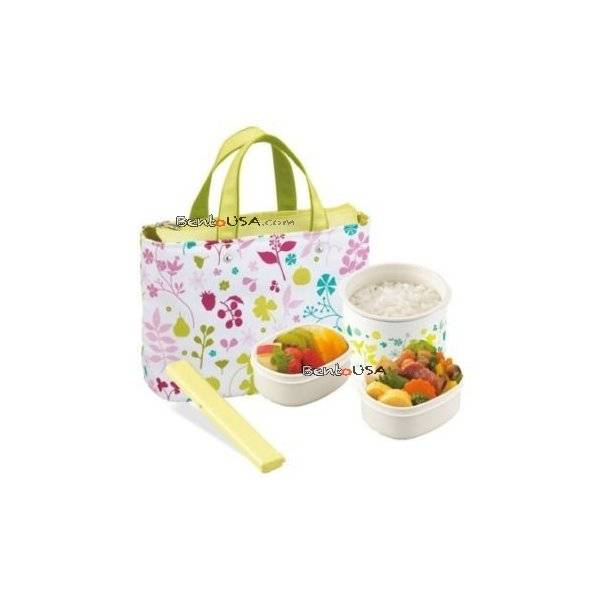kids bento stainless lunch box green all things for sale. Black Bedroom Furniture Sets. Home Design Ideas