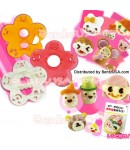 DECORATIVE BENTO CUTTER HAM CHEESE CUTTER SET 15 FACIAL EXPRESSION