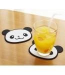 Silicone Panda Coaster set of 2