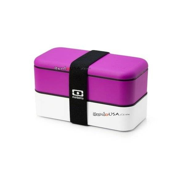 monbento bento lunch box fuschia white all things for sale. Black Bedroom Furniture Sets. Home Design Ideas