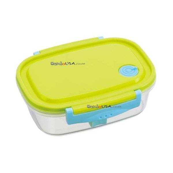 fully microwave tight bento lunch box green 720 ml all things for sale. Black Bedroom Furniture Sets. Home Design Ideas