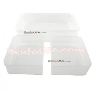 Microwavable Airtight 4-section Bento Lunch Box set Insulated Bag