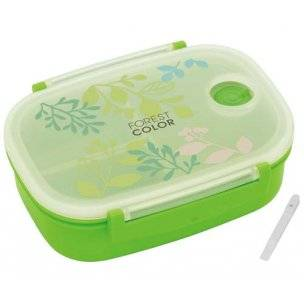 3 sections vacuum airtight bento lunch box 600ml green. Black Bedroom Furniture Sets. Home Design Ideas