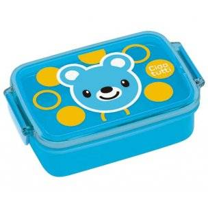 japanese air tight bento kids lunch box bear. Black Bedroom Furniture Sets. Home Design Ideas
