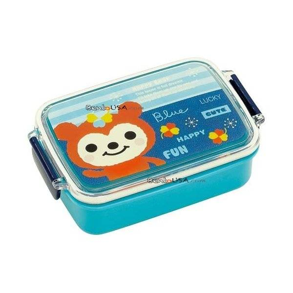 japanese air tight bento kids lunch box lucky bear all things for sale. Black Bedroom Furniture Sets. Home Design Ideas