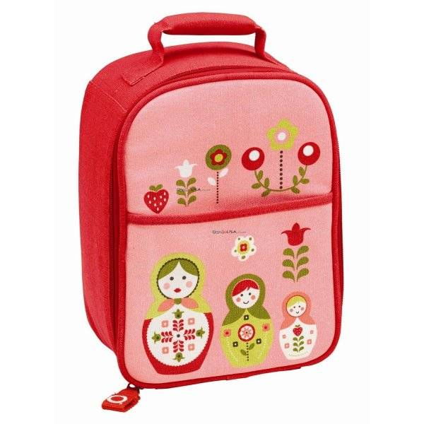 multi purpose bento lunch tote insulated bag zippee lunch tote matryoshka doll. Black Bedroom Furniture Sets. Home Design Ideas