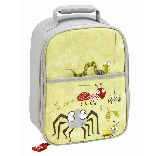 multi purpose bento lunch tote insulated bag icky bugs. Black Bedroom Furniture Sets. Home Design Ideas
