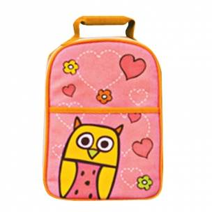 multi purpose bento lunch tote insulated bag owl hoot. Black Bedroom Furniture Sets. Home Design Ideas