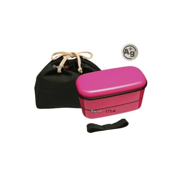 japanese ag bento box lunch box set pink all things for sale. Black Bedroom Furniture Sets. Home Design Ideas