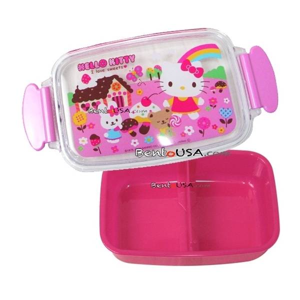 microwavable 500ml hello kitty bento lunch box all things for sale. Black Bedroom Furniture Sets. Home Design Ideas